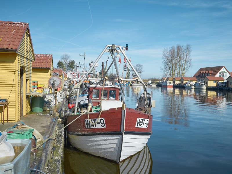 Fischerhafen Freest © TMV/pocha.de
