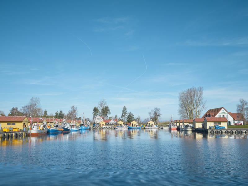 Fischereihafen Freest © TMV/pocha.de