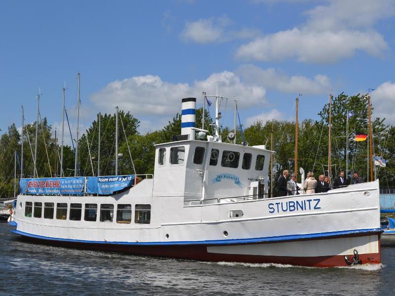 Boddenrundfahrt mit der MS Stubnitz