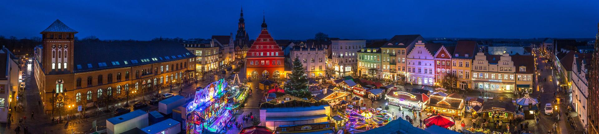 Greifswalder Weihnachtsmarkt © Wally Pruß