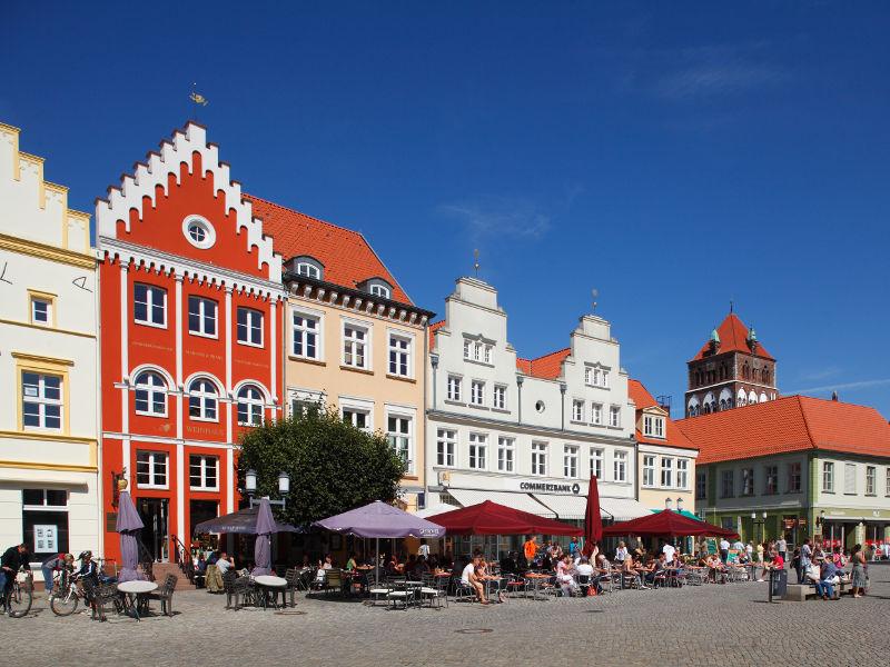 Nordseite des historischen Marktplatzes © Torsten Krüger