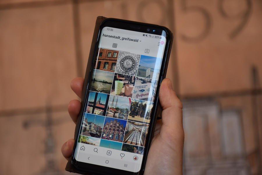 Greifswald startet Instagram